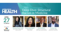 Live: Structural Racism in Medicine: A Killer Disease and Public Health Crisis | MSNBC 6