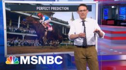 This is beating the odds. | Steve Kornacki | MSNBC 8