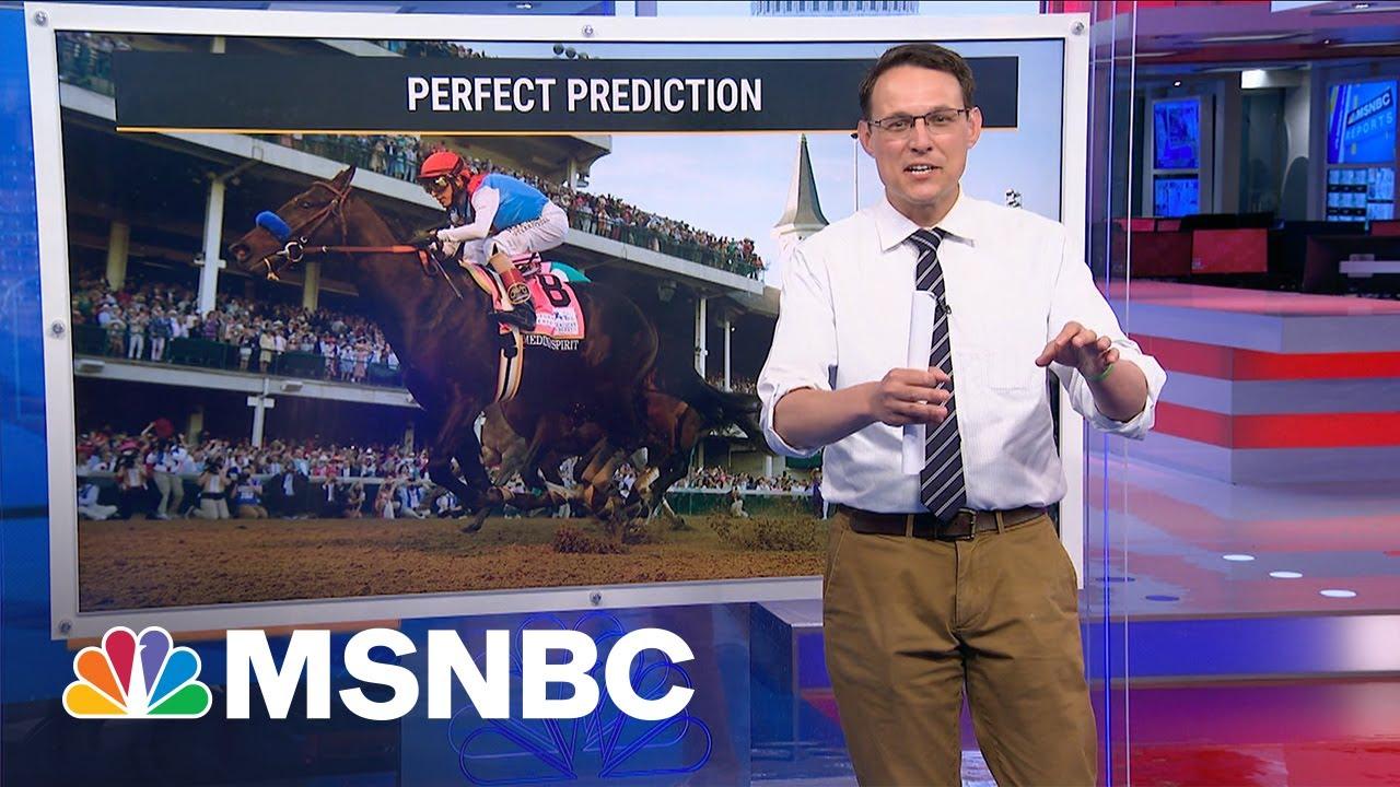 This is beating the odds. | Steve Kornacki | MSNBC 9