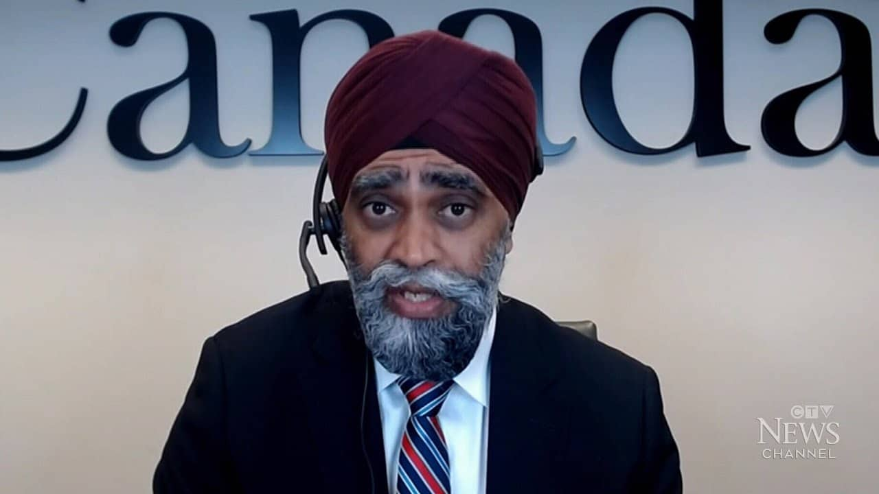Sajjan weighs in on Canadian military misconduct complaints 1