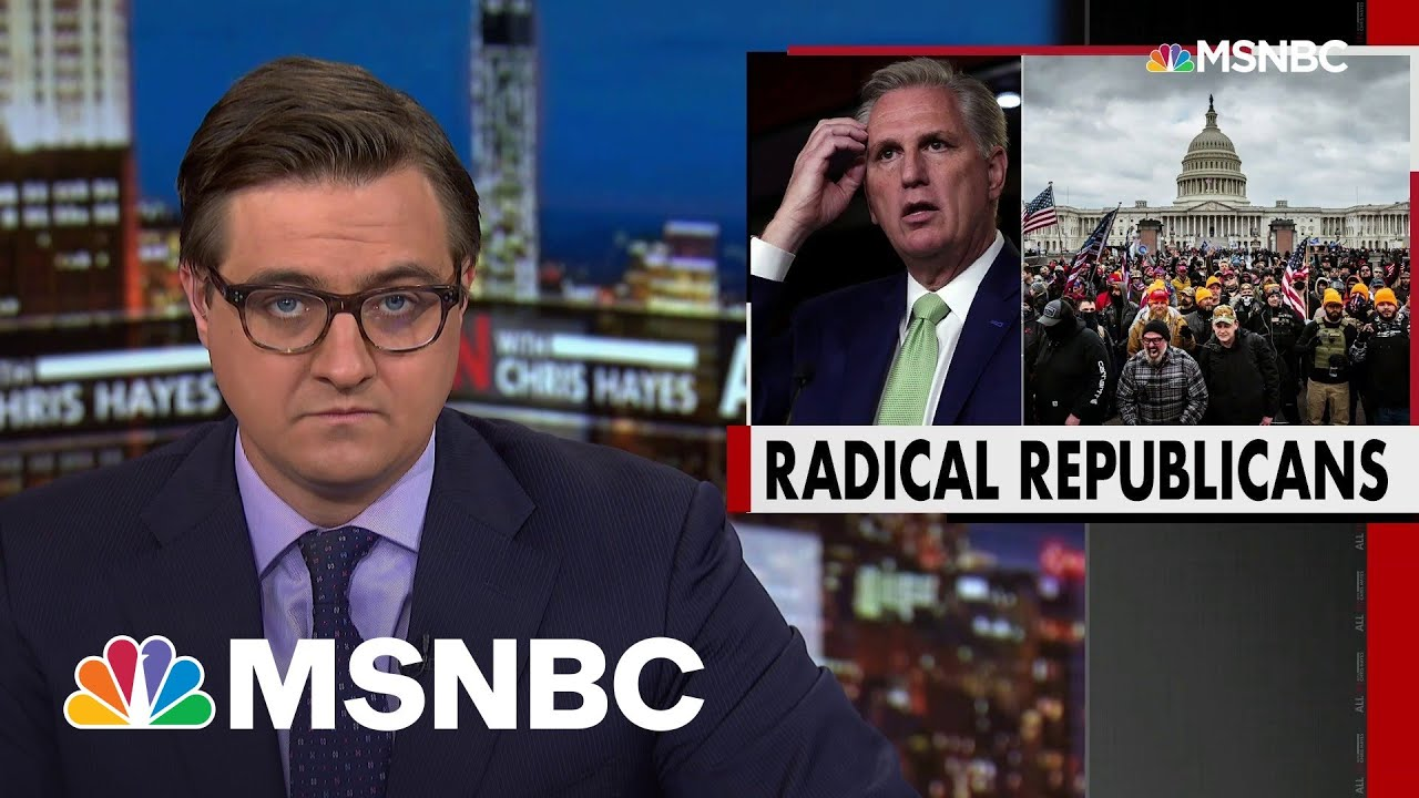 How Republicans Trade Dignity To Stay In Party Of Trump | All In | MSNBC 1
