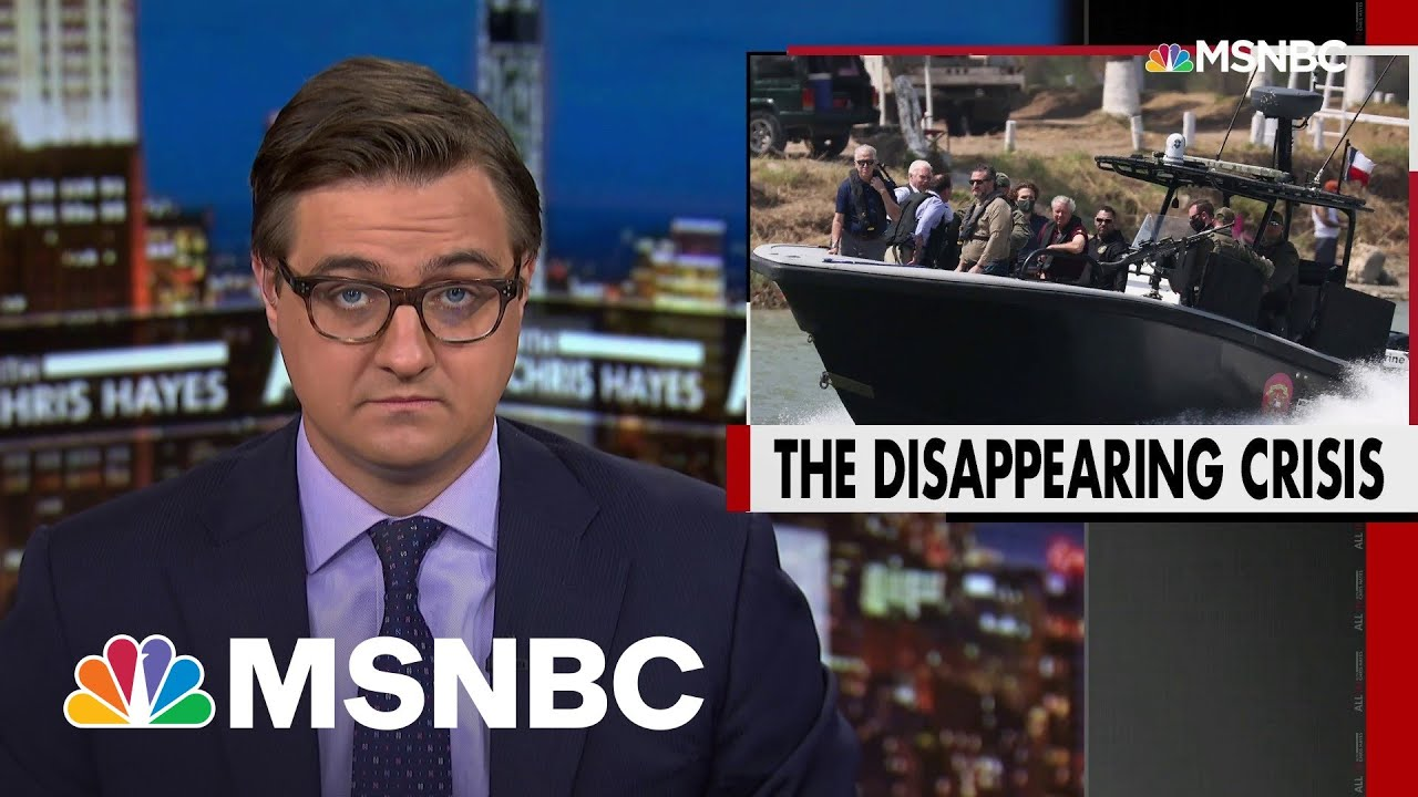 Number of Unaccompanied Migrants Drops—Along With Border Media Coverage | All In | MSNBC 3