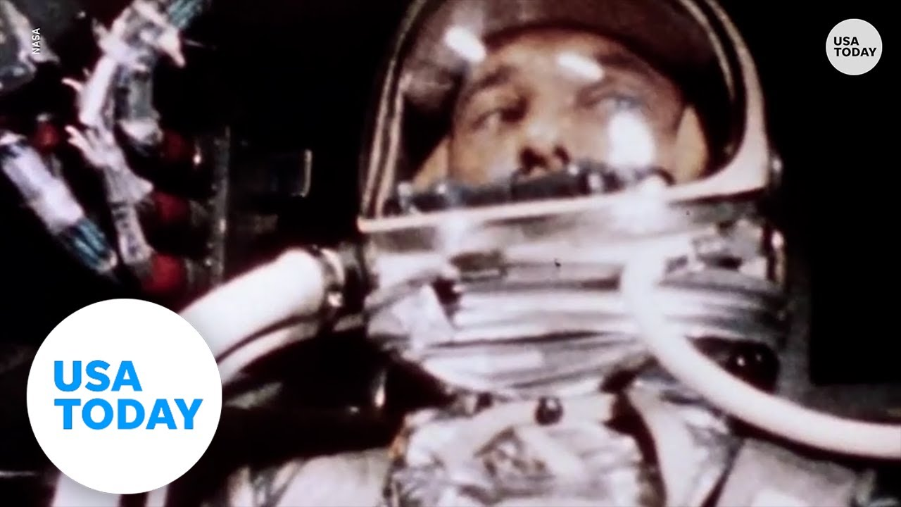 First American in space 60th anniversary, Alan Shepard liftoffs 1