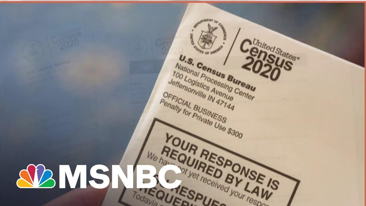 Census Lays Groundwork For Redistricting Battle in GOP-Led States | MSNBC 1