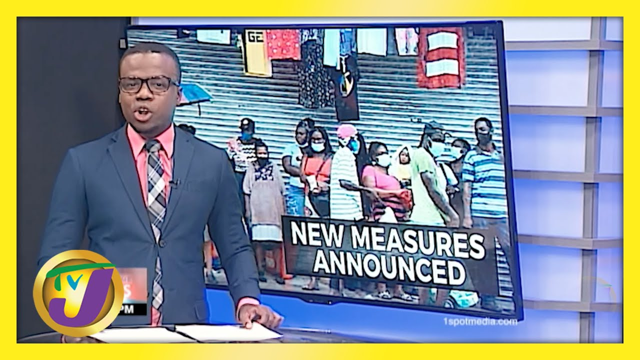 Jamaican Gov't Announce New Covid Measures | TVJ News - May 4 2021 1
