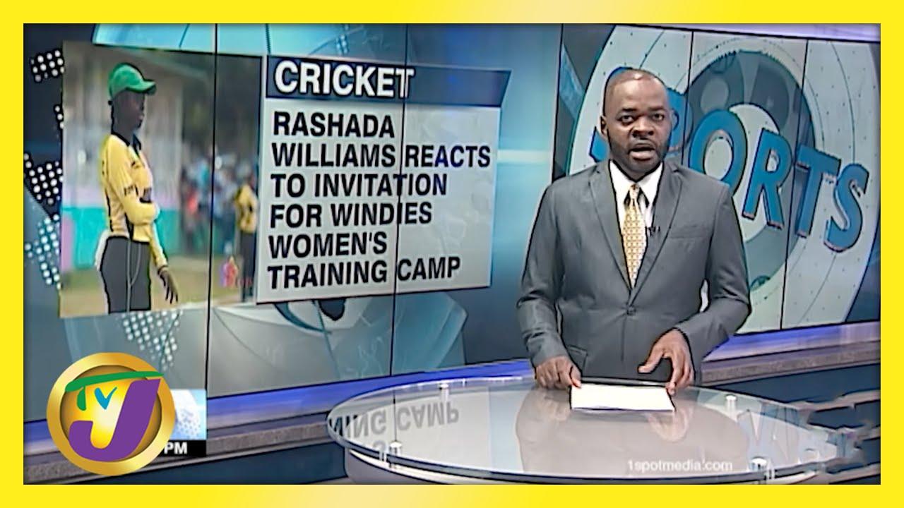 Rashada Williams Joins Windies Women's Training Camp - May 4 2021 1