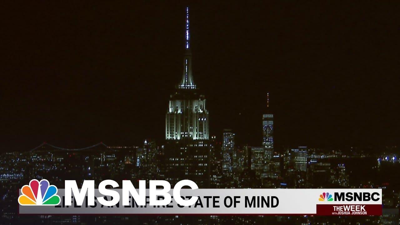 Empire State Building Celebrates 90th Anniversary   MSNBC 1