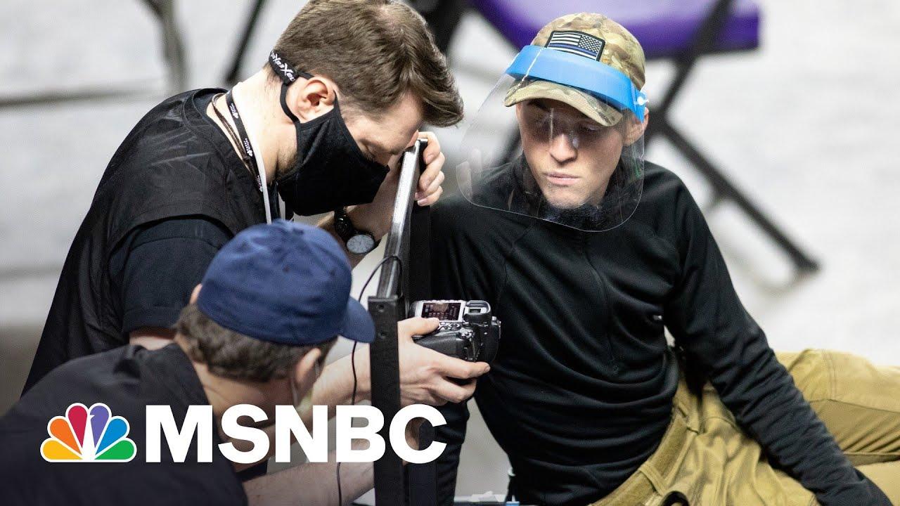 Bizarre Excuse Behind Cuckoo GOP-Led Vote Audit   Rachel Maddow   MSNBC 1