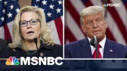 Liz Cheney Blasts GOP's Trump Obsession | The 11th Hour | MSNBC 9