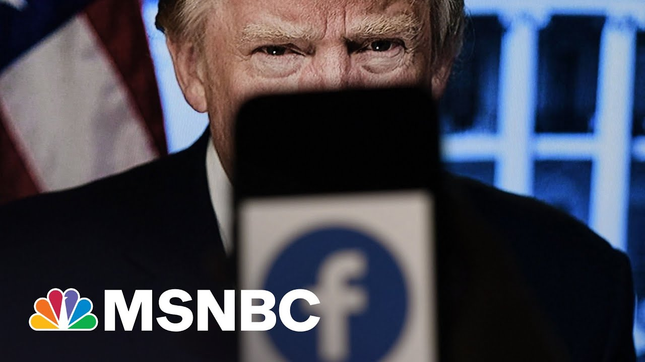 After Facebook Affirms Trump Ban, Trump Reminds Why It Was Necessary | Rachel Maddow | MSNBC 1