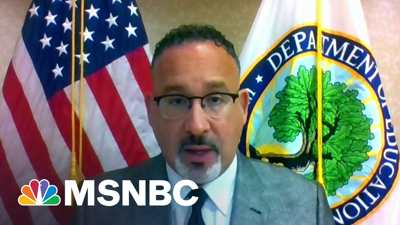 Education Secretary Expects Schools To Be Open For In-Person Learning In September | MSNBC 1