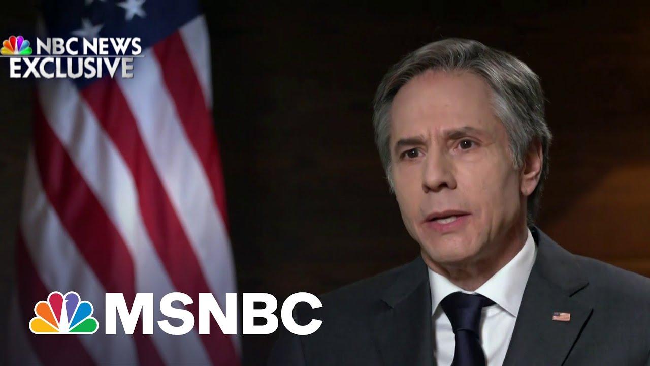 Blinken: U.S. Is Committed To 'Helping Ukraine Defend Itself' | MSNBC 1