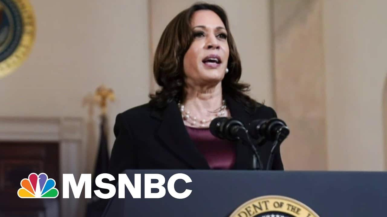 Chief Spokesperson for Vice President Kamala Harris On Her Historic First 100 Days   MSNBC 1