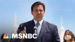 Gov. DeSantis Shuts Out Reporters From Election Bill Signing | MSNBC 9