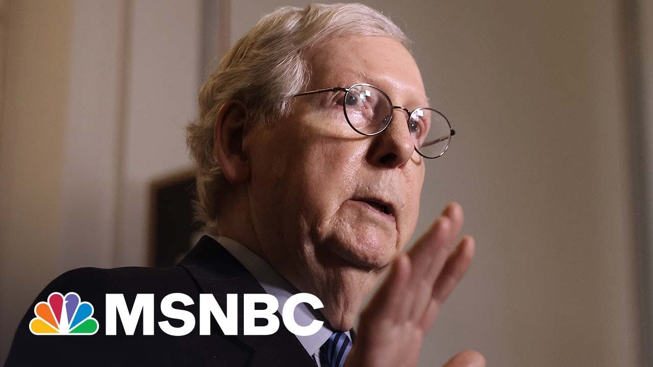 McConnell Walks Back Language On 'Stopping' Biden Administration | MSNBC 8