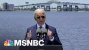 President Biden On America's Failure To Invest In Infrastructure | MSNBC 4