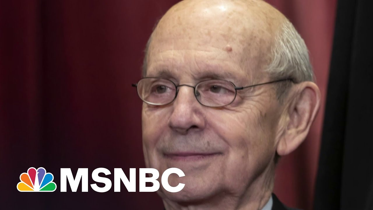 New Poll Says Americans Want SCOTUS Justice Breyer To Retire | MTP Daily | MSNBC 2