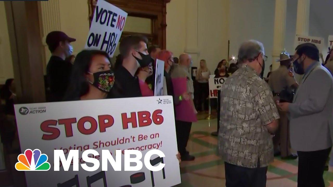 Brett Hurt On Texas Voting Restriction: 'It's Fundamentally Anti-Democratic'   MSNBC 9