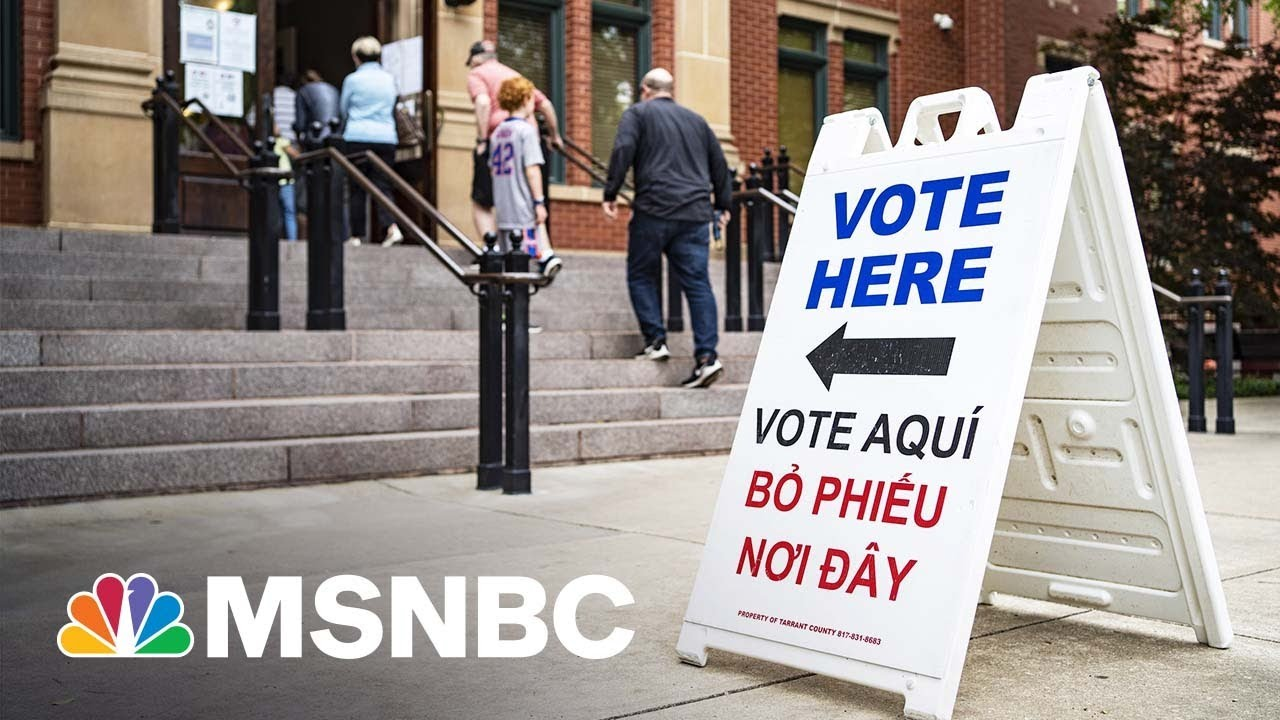 Florida And Texas GOP Back Voting Restriction Bill | MSNBC 1