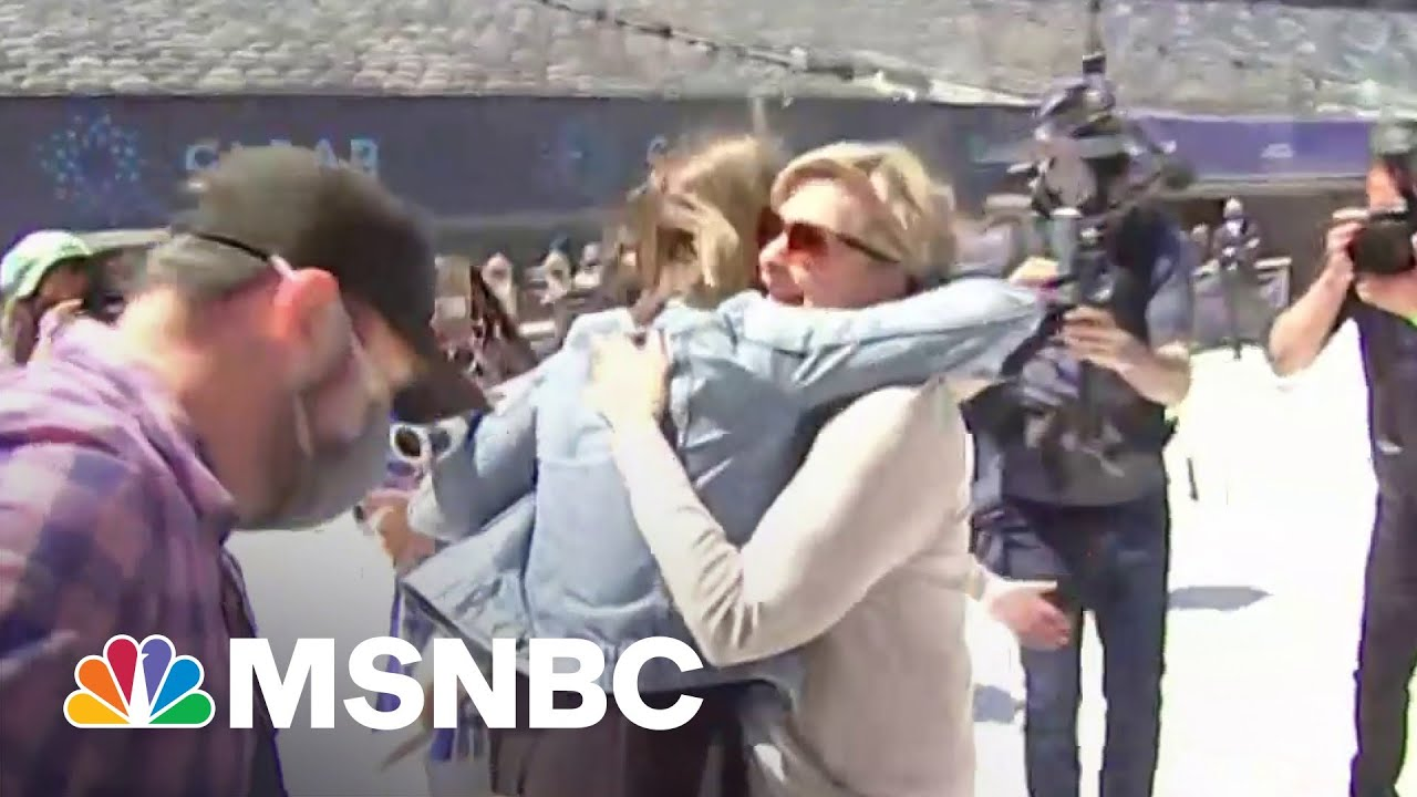 Families Reunited At MetLife After Being Separated By Covid | MSNBC 9