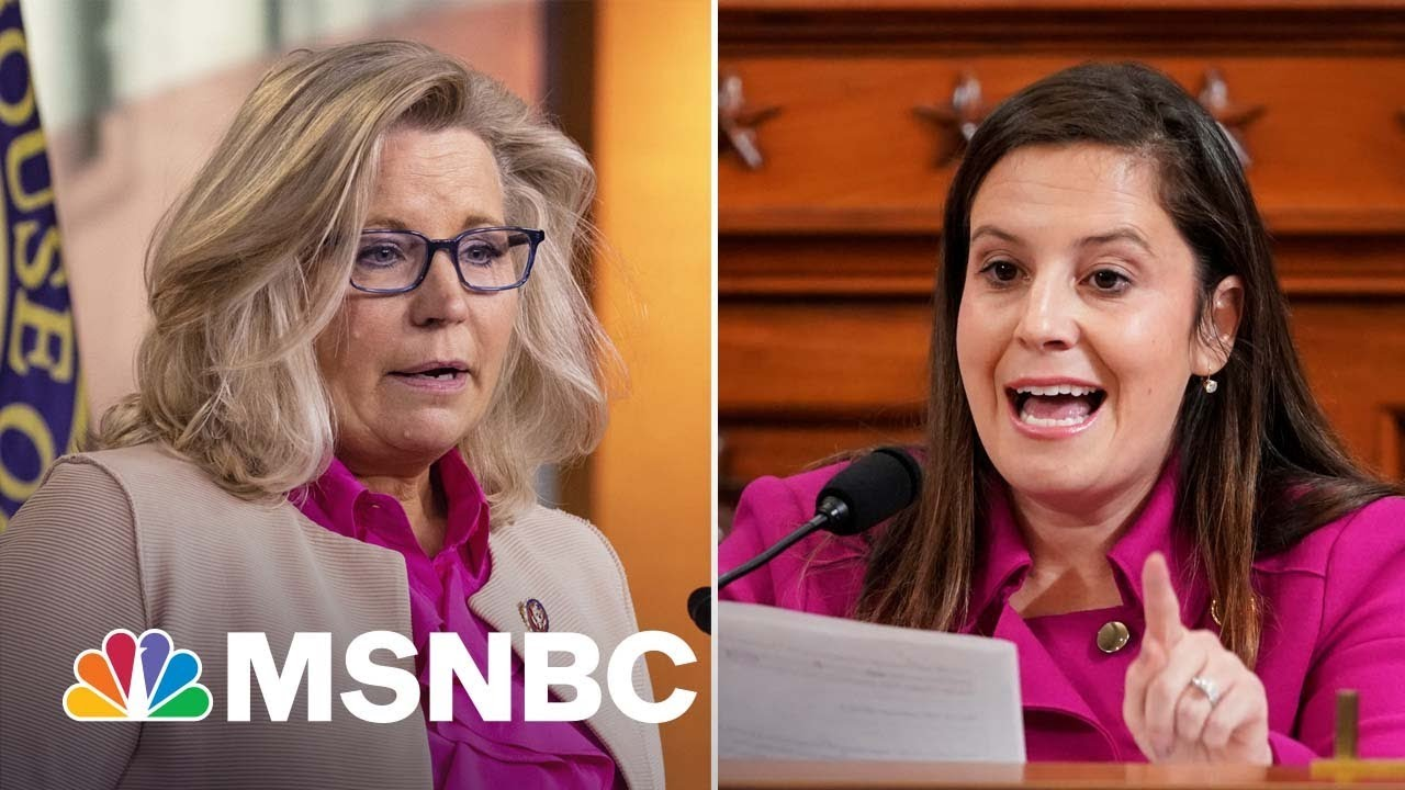 House GOP Poised To Replace Liz Cheney With Trump Loyalist Elise Stefanik | MSNBC 9