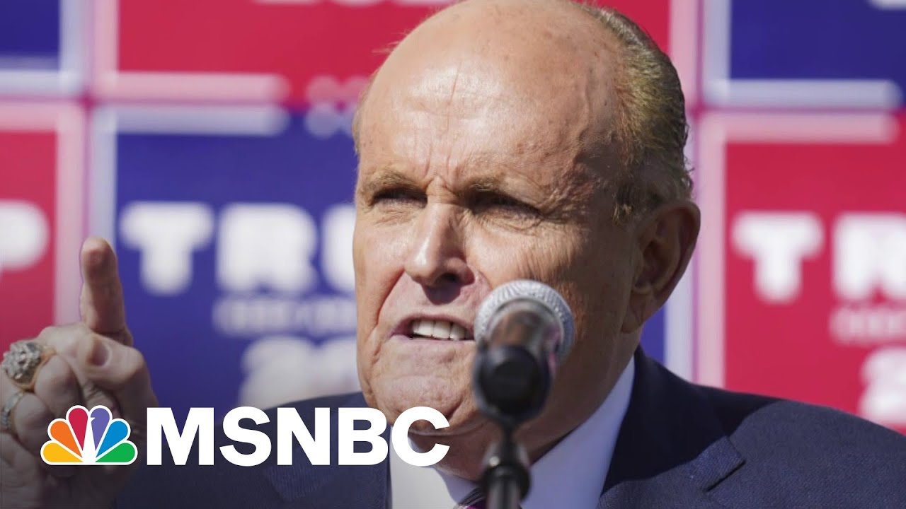 Report: Giuliani Reduces His Entourage To Cut Costs   MSNBC 7