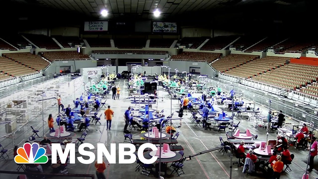 How One State's Vote Audit Is Fueling The Big Lie Across The Country | MSNBC 1