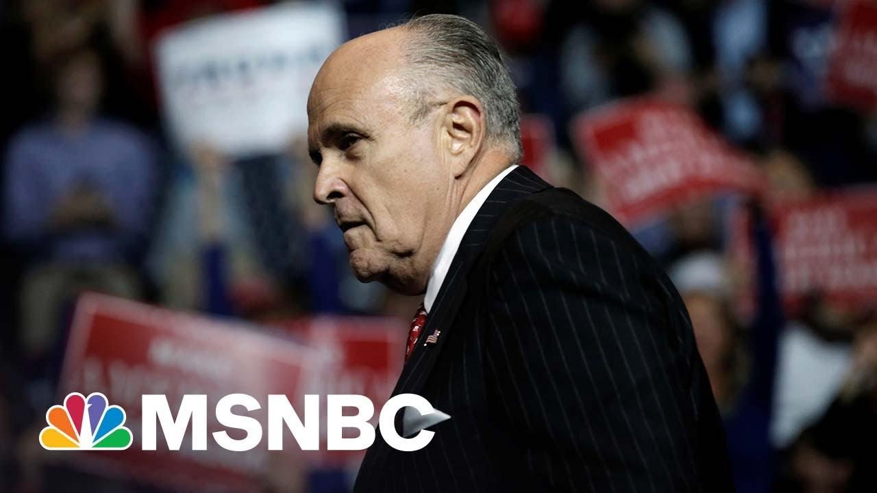 Why Rudy Giuliani's Cash Crunch Should Worry Donald Trump | MSNBC 1