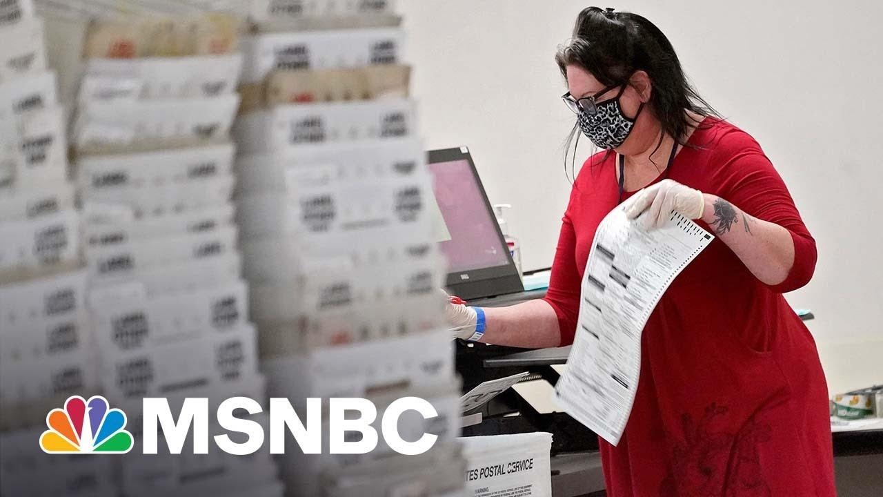 Voter Intimidation Concerns In Arizona With GOP 'Sham' Audit | The ReidOut | MSNBC 1