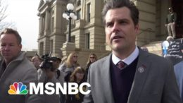 Gaetz's New Defense In Sex Crime Probe: I'm Like Trump | The Beat With Ari Melber | MSNBC 8