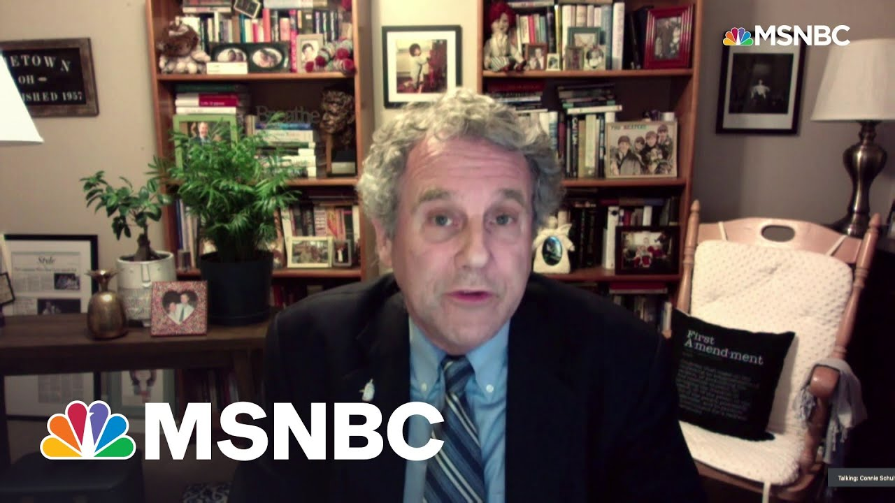 Sen. Sherrod Brown On Push To Vaccinate Rest Of World | All In | MSNBC 2