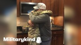 Airman's surprise reunion has brother in tears | Militarykind 2