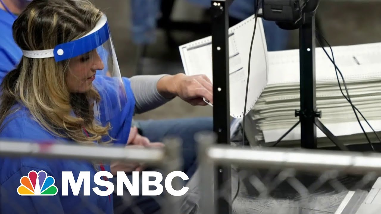 Federal And State Officials Sound Alarm About 'Sham' AZ Audit   The Last Word   MSNBC 1