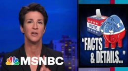 Trump Makes Election Fantasy The Core Of Republican Doctrine | Rachel Maddow | MSNBC 7