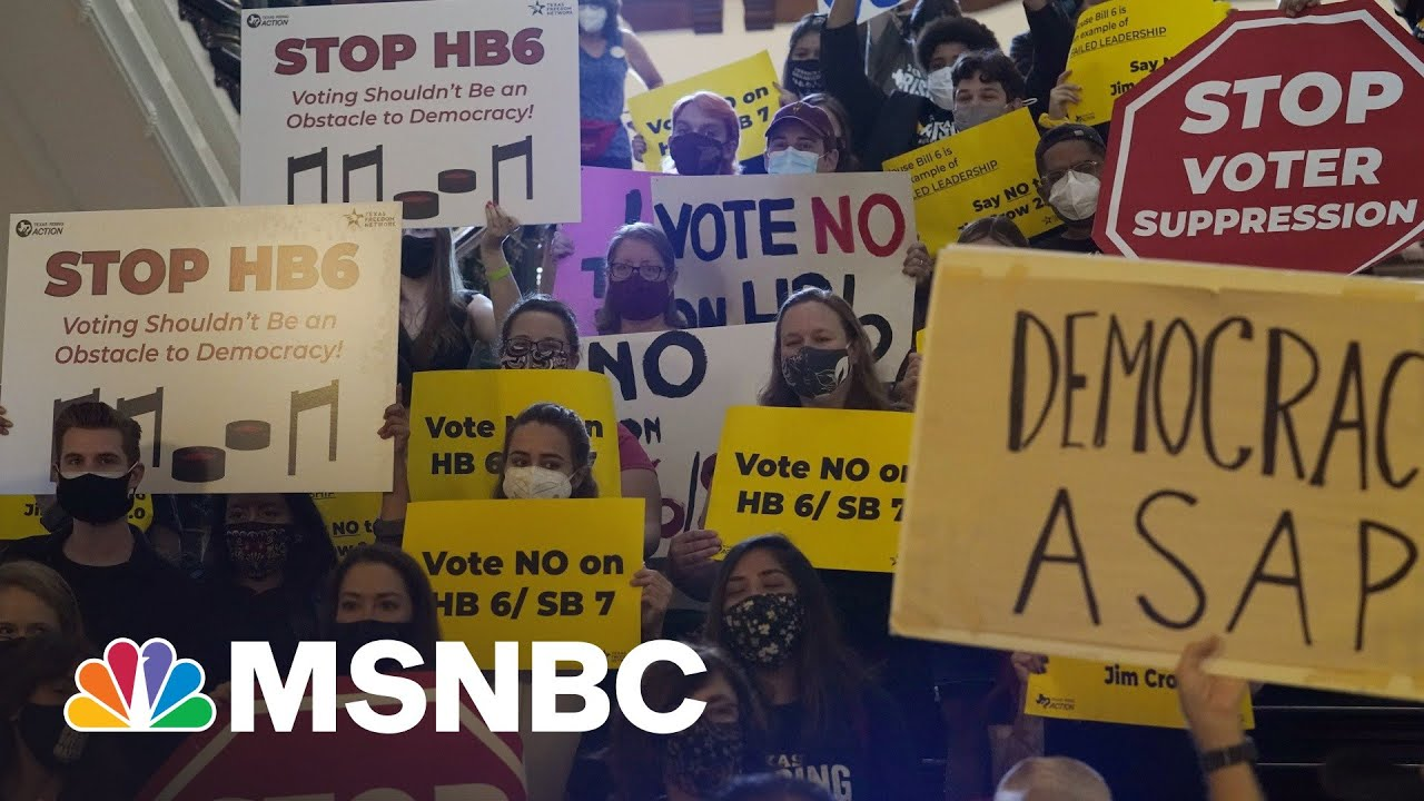 GOP Voter Suppression Strategy: Signaling Base Not To Trust Elections | Rachel Maddow | MSNBC 1