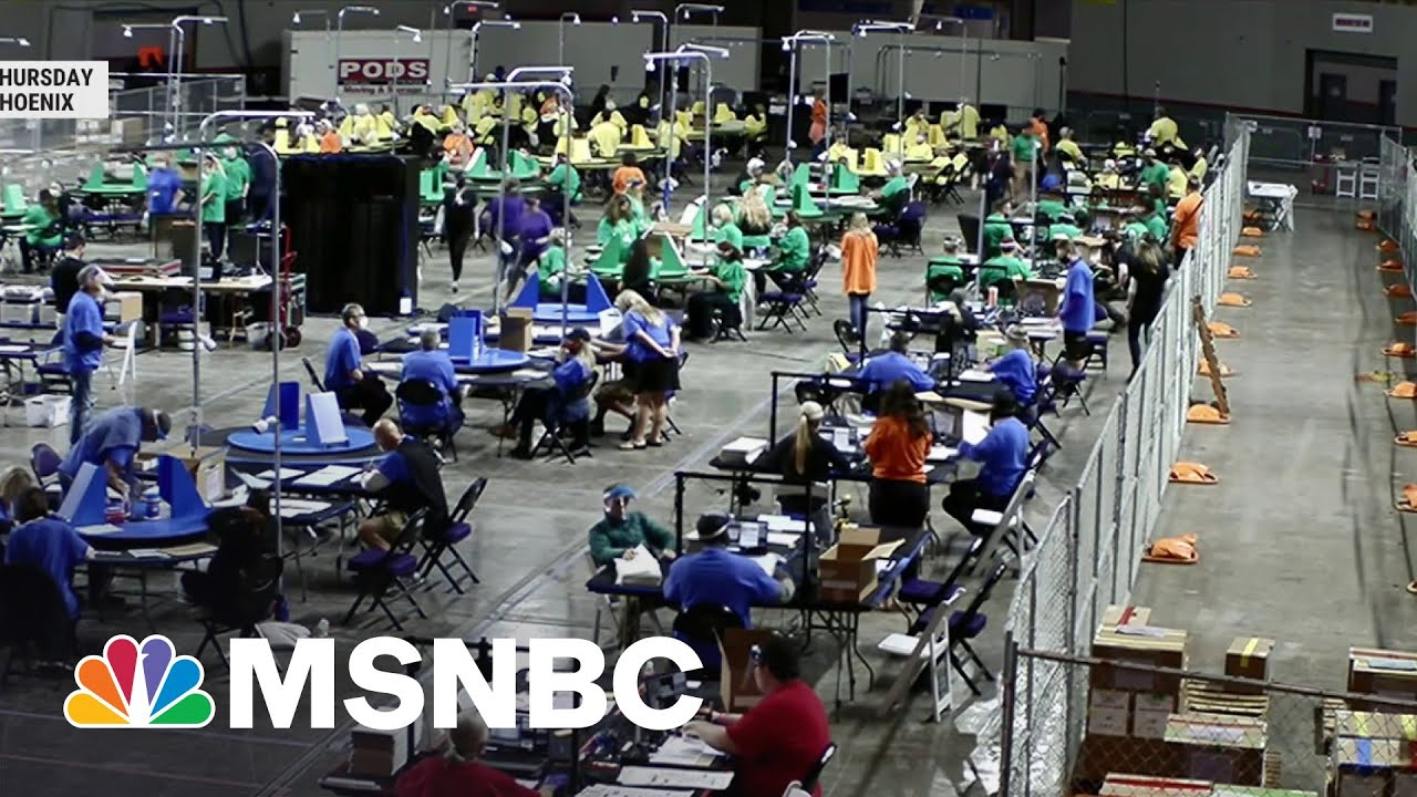 Red Flags Raised Over GOP Audit Of Arizona 2020 Ballots | MSNBC 8