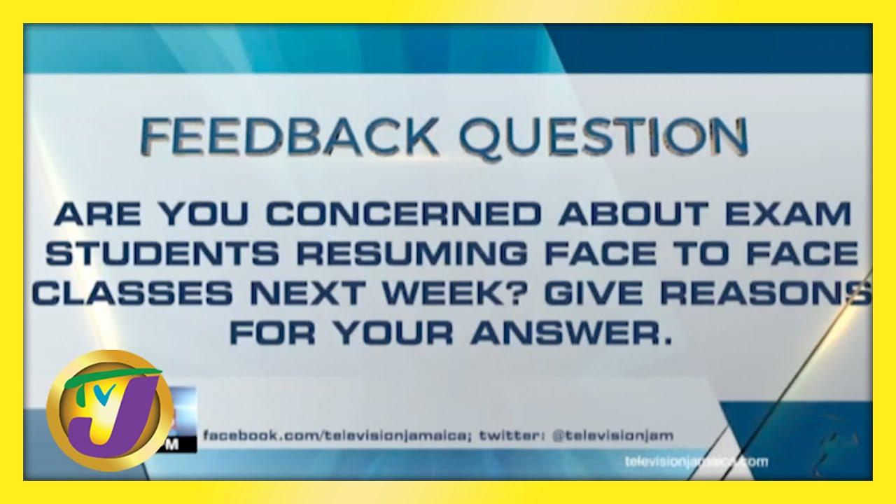 Feedback Question | TVJ News - May 6 2021 1