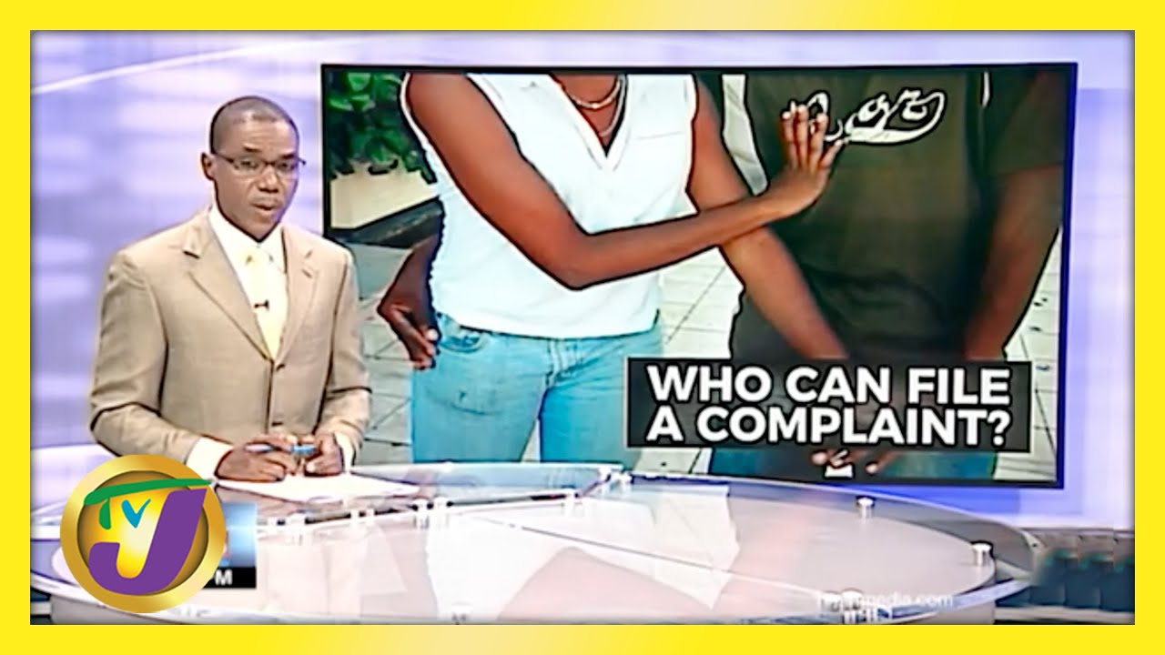 Who can File A Sexual Harassment Complaint? TVJ News - May 6 2021 1