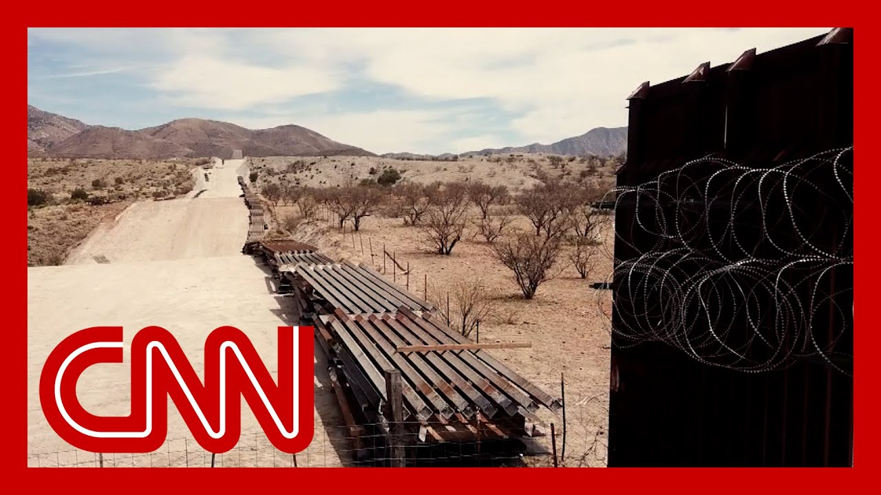 Work has stopped on Trump's border wall. See how it looks now 1