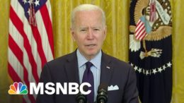 Biden Argues Dismal Jobs Report Shows Need For More Investment | The Last Word | MSNBC 9