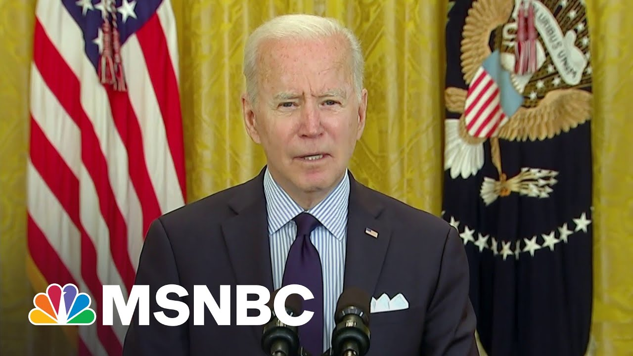 Biden Argues Dismal Jobs Report Shows Need For More Investment | The Last Word | MSNBC 6