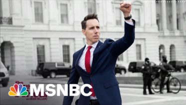 Josh Hawley Used Lots Of Tech To Hawk His Book Blasting Big Tech | The 11th Hour | MSNBC 6