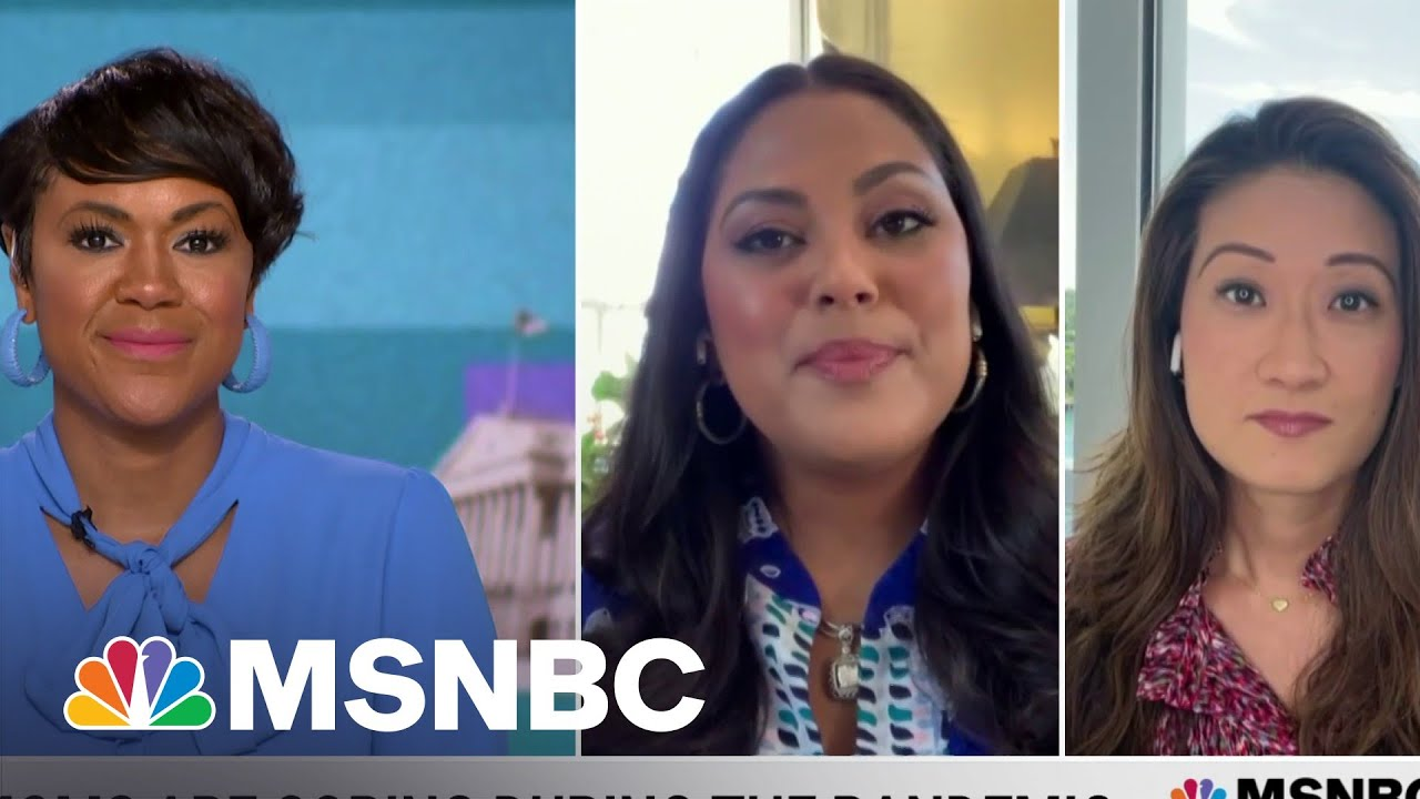 How Are Moms Coping During The Pandemic? Our Panel Of Mothers Discusses | MSNBC 8