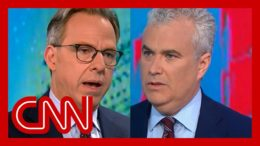 Jake Tapper presses WH Covid-19 coordinator on vaccinated Biden wearing a mask 3