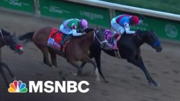 2021 Kentucky Derby Winner Fails Post-Race Drug Test | MSNBC 7