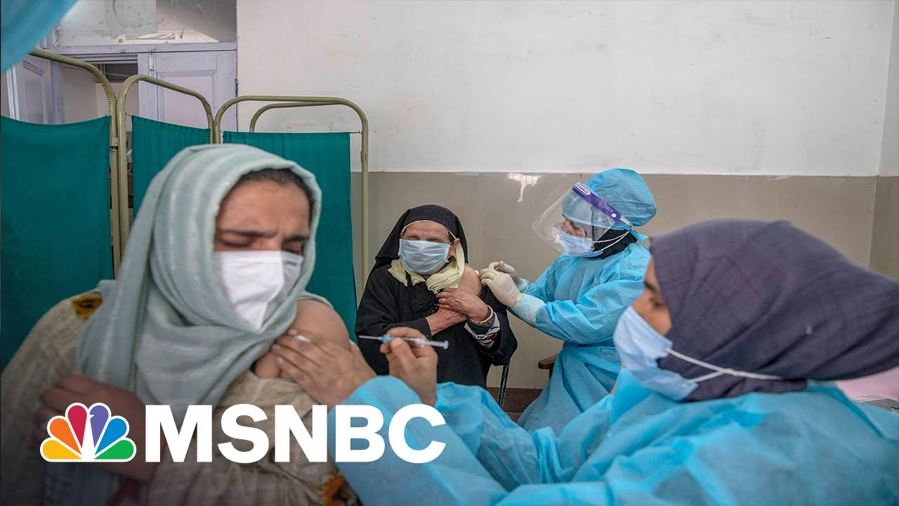 As India Covid Crisis Continues, Calls Grow To Waive Vaccine Patents | MSNBC 1
