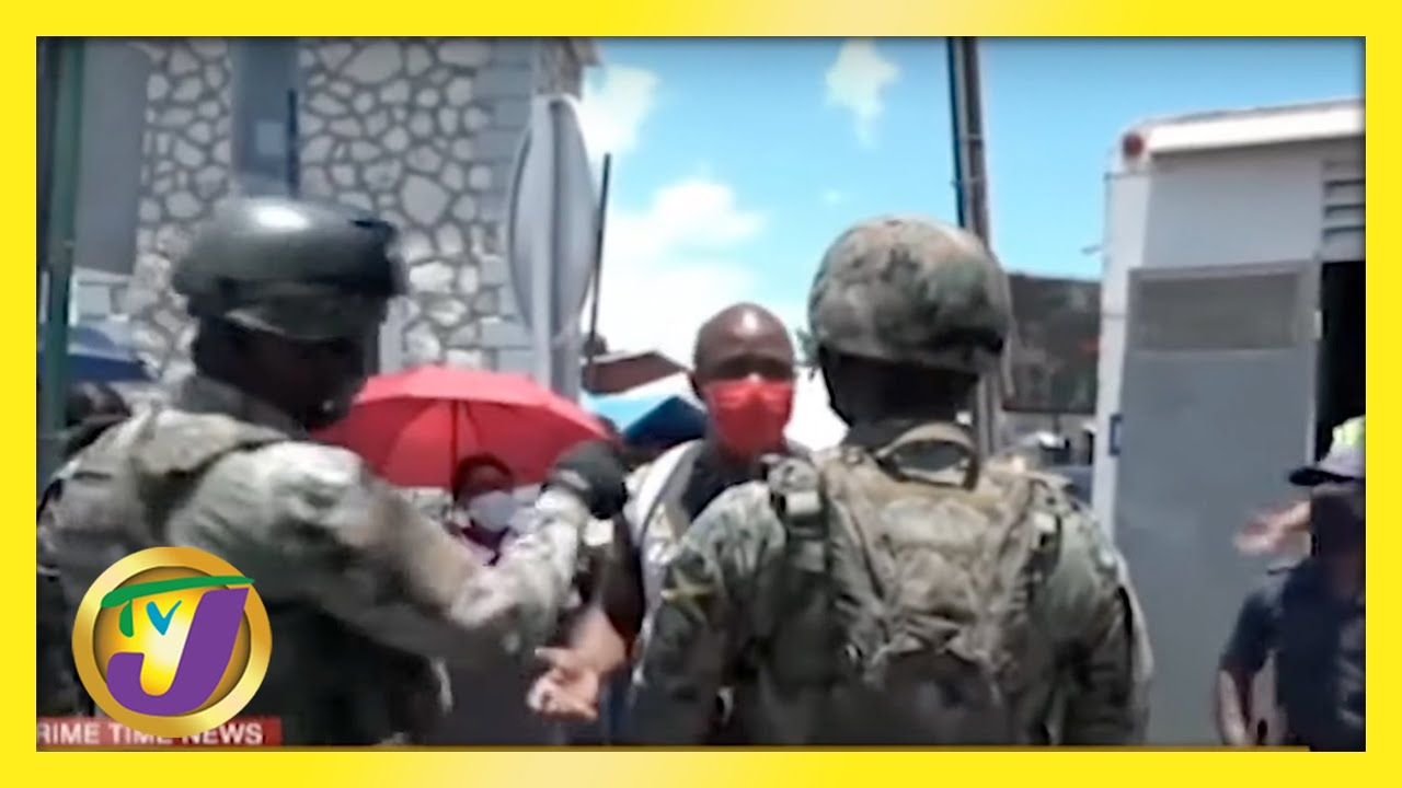 Jamaicans Charged for Not Wearing Mask | Abducted Elderly Man Found | Party Boat Capsized 1