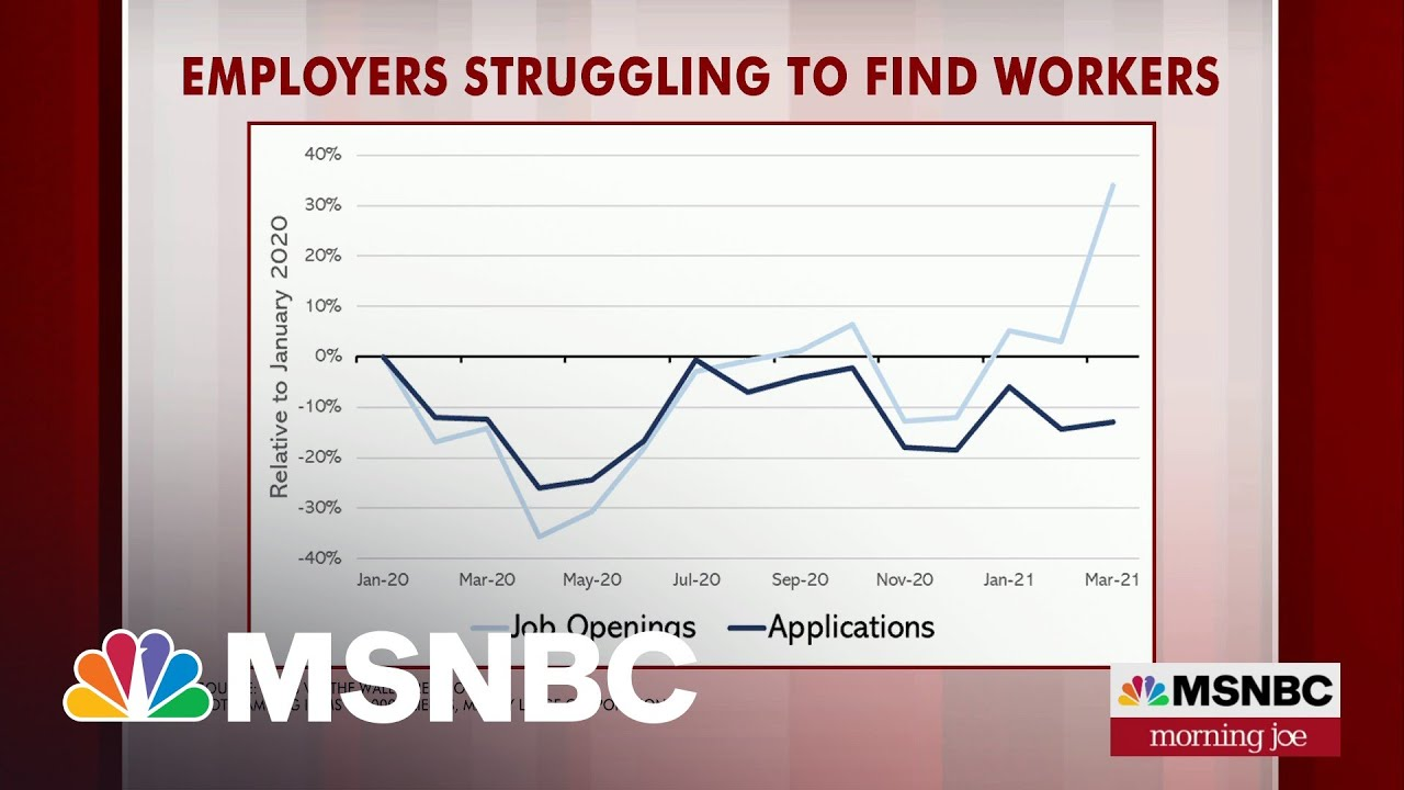 Steve Rattner: Number Of Factors Hurting The Pace Of Rehiring | Morning Joe | MSNBC 9
