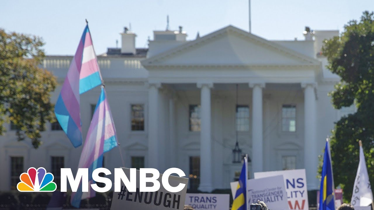 Biden Administration Reverses Trump Policy That Limited Transgender Health Care Protections | MSNBC 4