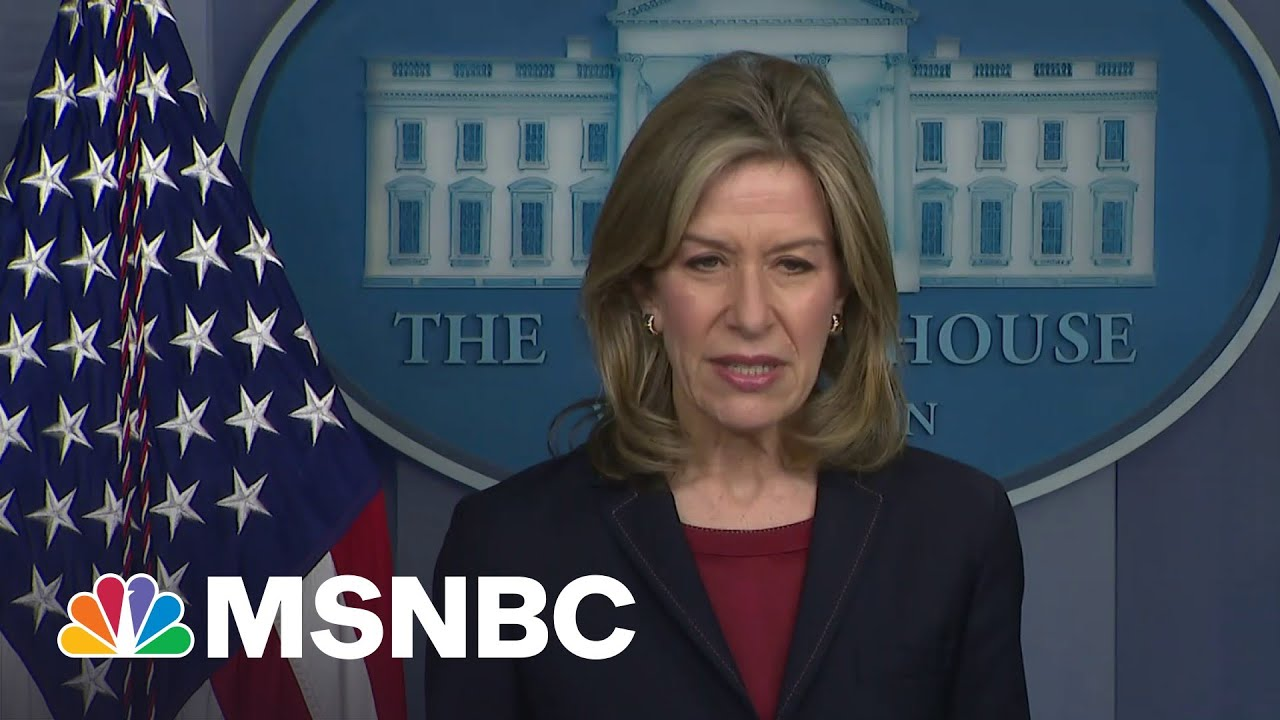 White House: Pipeline Has Not Suffered Damage After Cyberattack, Can Be Brought Back Online   MSNBC 1